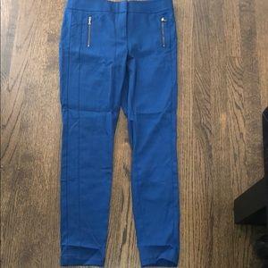 Ann Taylor Loft dress pants size 4 cobalt blue